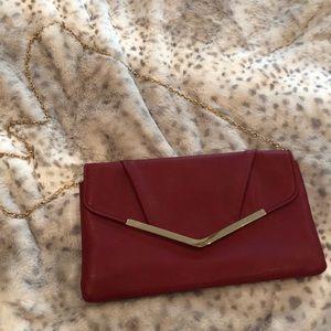 Gunne Sax envelope clutch bag